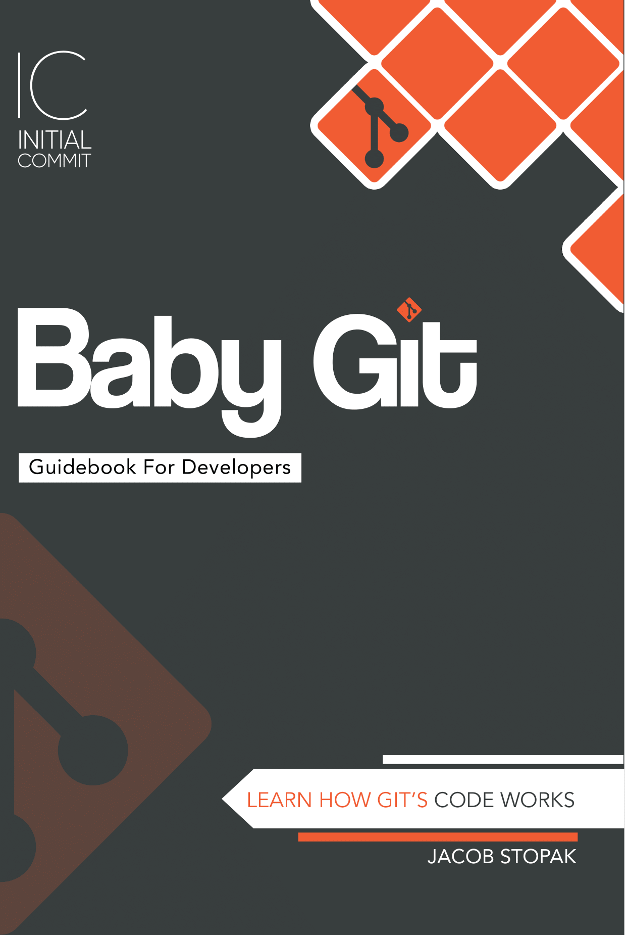 Image of the cover of the Baby Git Guidebook for Developers