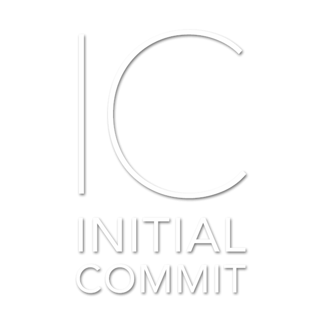 Image of the Initial Commit banner logo