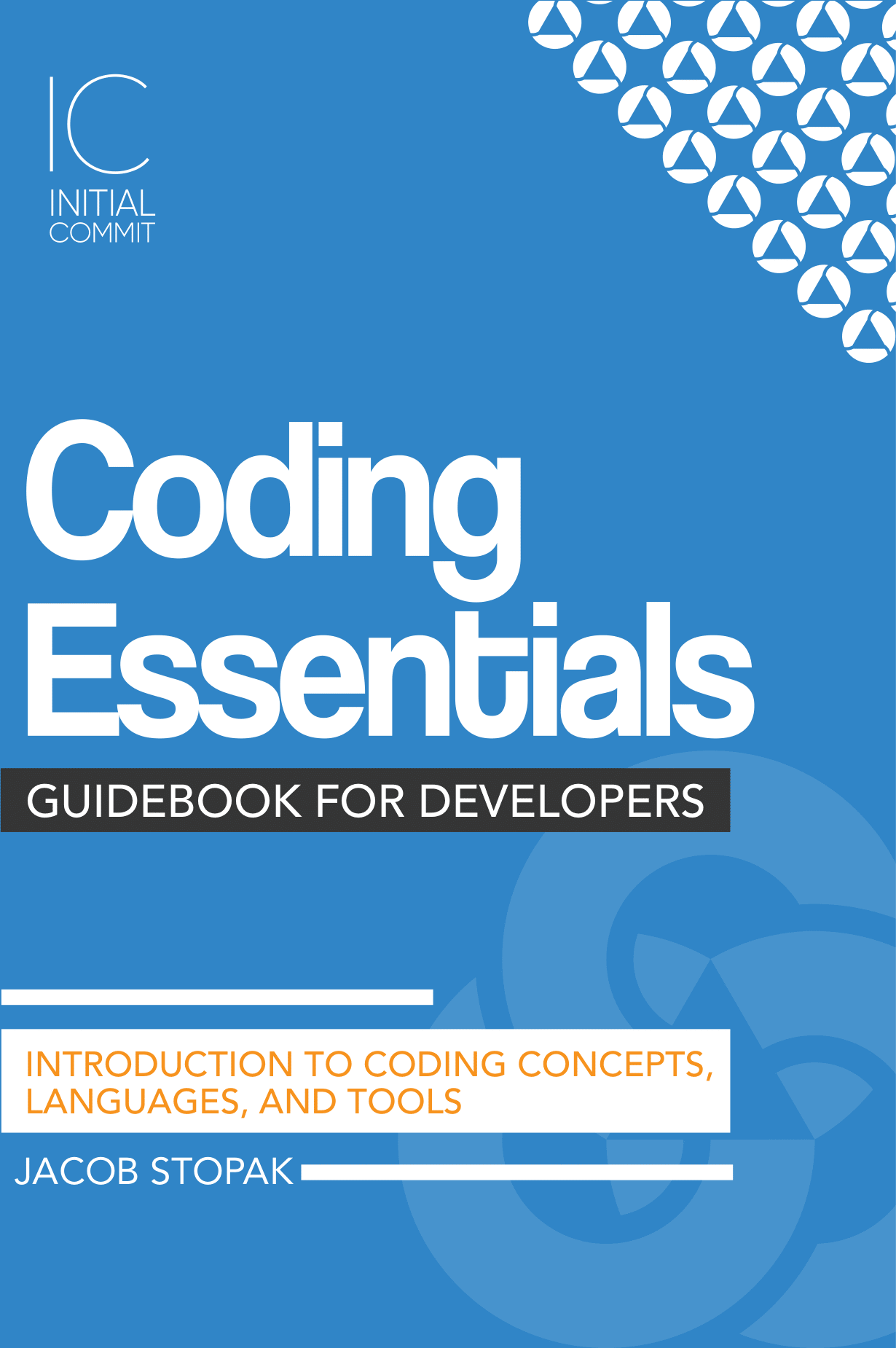 Image of the cover of the Coding Essentials Guidebook for Developers